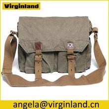2361 Hot-sale Stylish Classic Elegant Casual Cotton Canvas Cloth Bag for Unisex