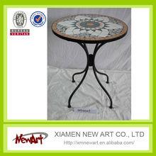 alibaba furniture china furniture outdoor garden mosaic folding table antique iron mesh table wrought iron garden furniture