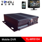 DVR H 264 used on vehicle DVR with 3G and GPS tracker with Free DVR player