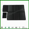 60W high efficiency folding solar bag for laptop/battery/tablet PC/mobile phone
