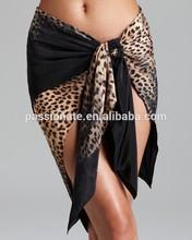women beach cover up dresses / girls beach wear wrap bottom