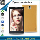 android 4.4 7 inch tablet built-in bluetooth wifi tablet pc with charger
