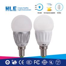 high cost effective energy saving 80% 85lm/w 3w bulb led e14