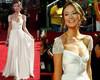 2015 New Sexy Chiffon Evening dress A-Line with Beading Sweetheart Sleevesless vestidos de fiesta Long Prom dress