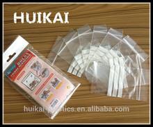 plastic bag insert / zipper rice bag / retail zip bag