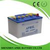 DIN80 12V 80AH Sealed Lead Acid Maintenance Free Starting Dry Car Battery