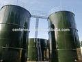 Esmalte laminado en caliente atornillado tanque para portátil de agua