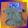 2014 pet novelty items Plain Color led flashing dog clothes