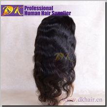 Guangzhou DK 2013 best selling brazilian hair wig,lacefront wigs