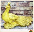 ceramic peacock crafts statue for garden home decoration