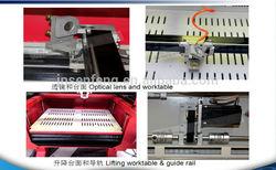 CO2 laser engraving cutting machine best price baseball bat