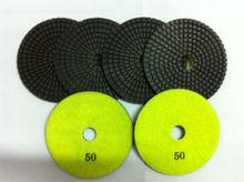 the renovator tool Stone Processing 4inch diamond wet polishing pads