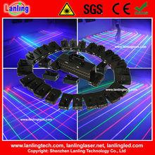 32lens rgb laser net/ curtain club stage light