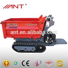 Mini dumper Mini dump truck with track CE BY1000 1t loading