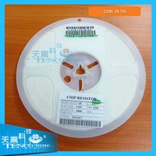 all kinds of resistors 1206 1R 5% smd resistor