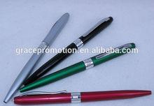 2014 Novel design high quality promotional plastic roller pen