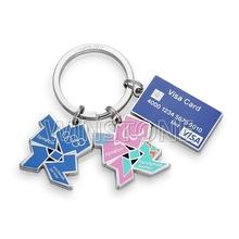 Customized Olympics games Keychain 2012