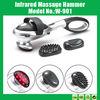 Portable Vibrating Personal Massager,Infrared Massage Hammer