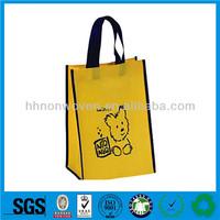 Guangzhou 100% pp spunbond non woven shopping bag fabric