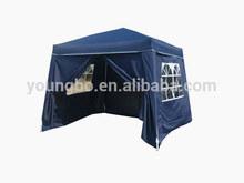 blue 2.4X2.4/3x3M with saidwall with foot cover Patio Garden Yard Outdoor Gazebo Outdoor yard gazebo