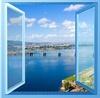 Australia style horizontal aluminium windows and doors for home