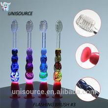 Promotion electric Flashing timer Child Toothbrush