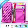 Universal smart phone wallet style leather case, phone case wallet for galaxy s2