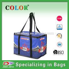 Large capacity finshing promotion cooler bag foldable