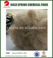china colorata fibra di poliestere riciclata produzione