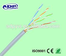 CCA 4p FTP CAT6 cable lan/ftp lan cable cat5e/cat5e lan cable