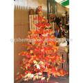 sjm0904135 guangzhou venta al por mayor al aire libre jardín decorativo artificial de árboles de madera de arce rojo del árbol