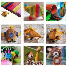 Factory Price papel corrugado artesania tiras quilling Corrugated paper sheet / Color Corrugated paper / Corrugated paper rolls