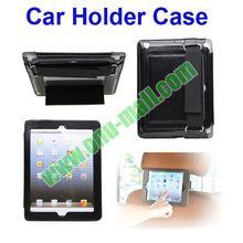 New Arrival Leather Flip Car Holder Case for iPad 5 iPad Air iPad 2 3 4