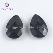 Double turtle beads black zircon stones factory diamond price