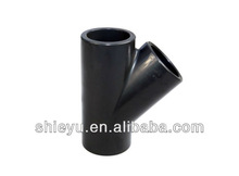 """Y tee pipe fitting 3"""" ANSI"""