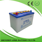 Professional manufacturing exide automotive JIS Dry Charged Car batteries N70 12v 70Ah for sale