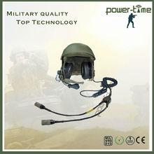 Wholesale bullet proof avaiton fighter pilot helmets with Y cable connectors U229/u PTE-747T