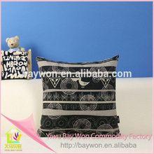 Fashion antique square plush cushion for homeward