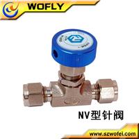 ss316 manual high pressure swagelok needle valve