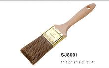 2014 fashion men leather belt sanjian paint brush