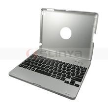 Wholesale Aluminium Alloy Slim Bluetooth Keyboard For iPad 2 3 Slim Bluetooth Keyboard Case