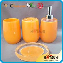 acrylic soap dispenser bathroom supplies