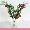 Make artificial flowe 5 branches grape with fruits for decoration In stock