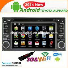 Car DVD support Google online Navi car GPS 3G wifi for Toyota LAND CRUISER 100