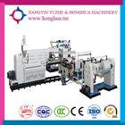 high speed full automatic PE. PVC cast pe film extrusion laminating machine aluminium tube production line manufacture