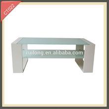 2014 years new design modern lighted elliptical coffee table hinge