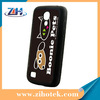 Soft TPU blank Rubber sublimation cases for Samsung S4 mini