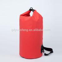 PVC tarpaulin Waterproof dry bag With A Shoulder Strap