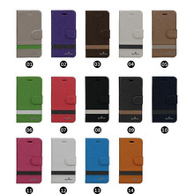 2014 New fashion Mixed color Pu leather flip case for samsung galaxy note 2