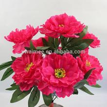 Wholesale high simulation artifical fake flower shop for peng,peony camo flower( AM-ZP30)